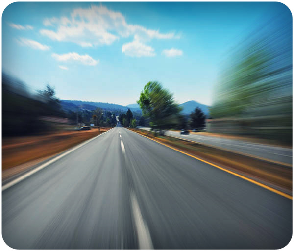 Speeding on the road / The Protection of God's Guardrails