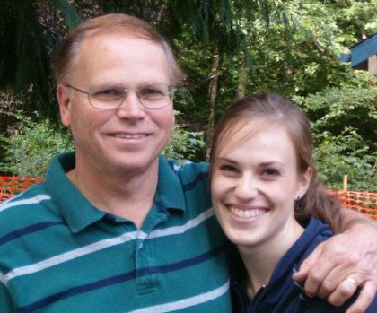 Stephanie and her dad