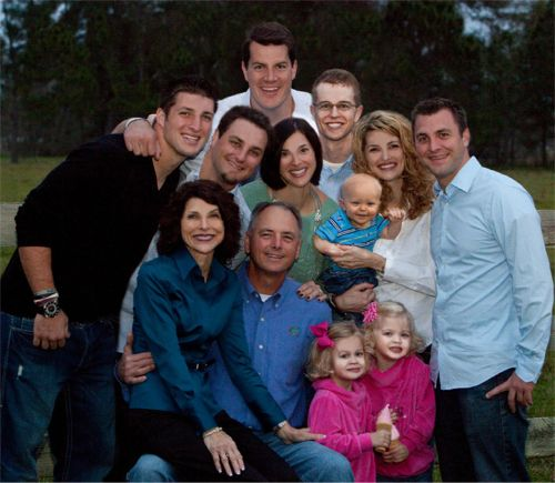 The Tebow family