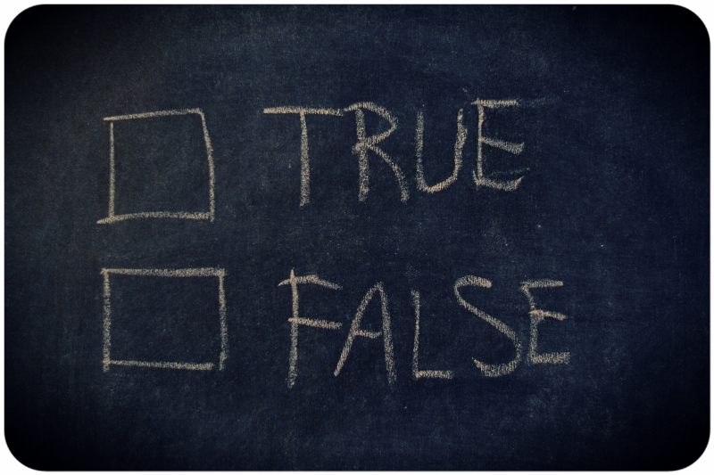 True or False? / The Sad Reality of the Disregard for Truth