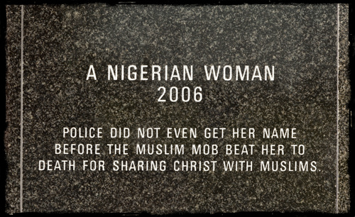Voice of the Martyrs Monument: A Nigerian Woman