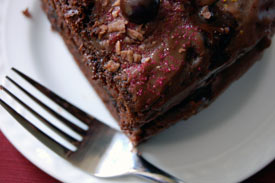 chocolate cake: an analogy to Romans 8:28