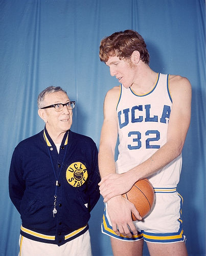 John Wooden & Bill Walton