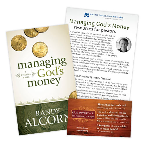 Managing God's Money pastors' kit