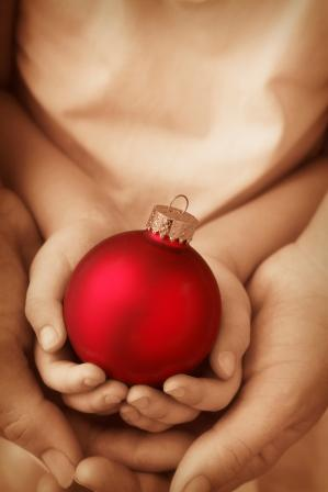 Ornament in hands