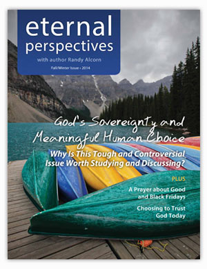 Fall/Winter 2014 issue of Eternal Perspectives
