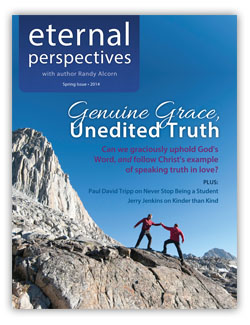 Spring 2014 issue of Eternal Perspectives